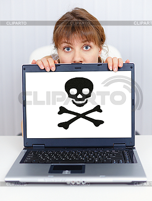 Woman can not work - problem with pirate software | 높은 해상도 사진 |ID 3152633