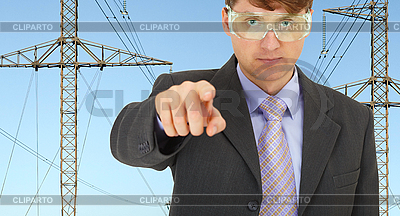 Safety engineer in electrical networks | High resolution stock photo |ID 3152680