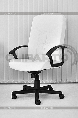 Big white office leather armchair for chief | High resolution stock photo |ID 3159718