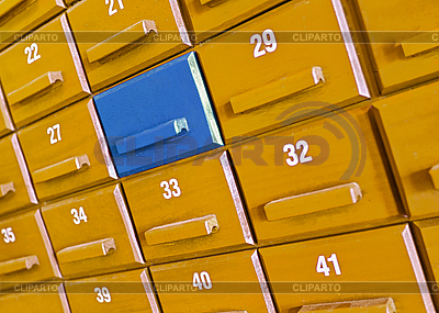 Individual wooden box in the closet   High resolution stock photo  ID 3183690