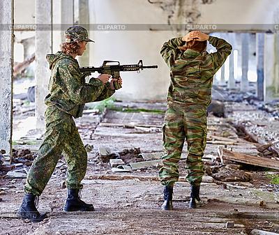 Frauen im Krieg - der Gefangene | Foto mit hoher Auflösung |ID 3183744