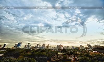 Evening metropolis - Bangkok | High resolution stock photo |ID 3183778
