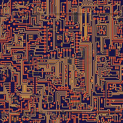 Seamless texture - circuit board | High resolution stock ...