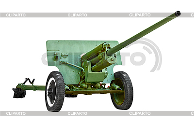 Russische Artillerie-Geschütz - World War II | Foto mit hoher Auflösung |ID 3294280