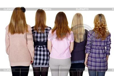 Фото женщин вид сзади