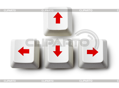 Cursor arrow keys | High resolution stock photo |ID 3365161