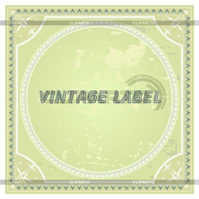 复古标签 | 向量插图 |ID 3184997