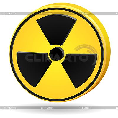 Znak promieniowania   Klipart wektorowy  ID 3197329