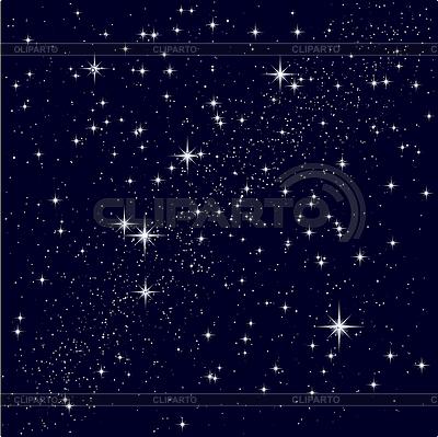 Starry sky   Stock Vector Graphics  ID 3206266