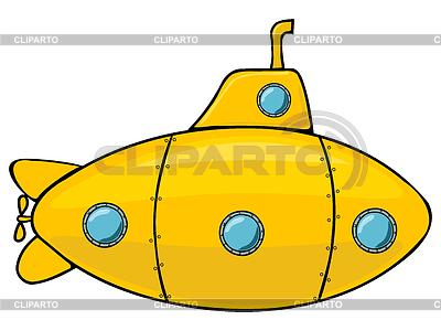 Yellow submarine   Stock Vector Graphics  ID 3215546