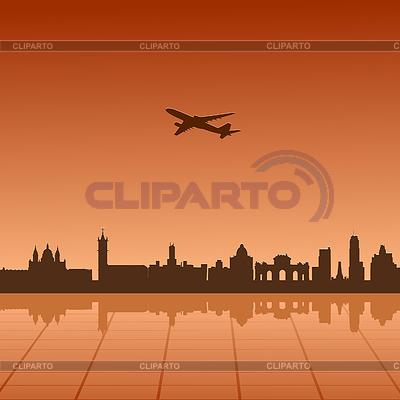 베를린의 도시 풍경   벡터 클립 아트  ID 3247998