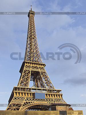 Wieża Eiffla w Paryżu | Foto stockowe wysokiej rozdzielczości |ID 3155652