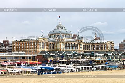 Niederländischen Badeort mit berühmten Kurhaus Hotel. Niederlande, Den   Foto mit hoher Auflösung  ID 3276418