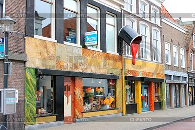 Geschäft von Farben und Lacken-Produkten in Gorinchem | Foto mit hoher Auflösung |ID 3314541