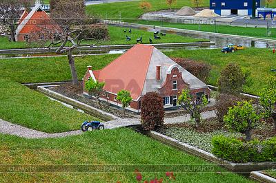 Madurodam - miniature city near Hague in Netherlands   High resolution stock photo  ID 3328710