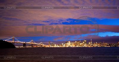 Центр города Сан-Франциско, как видно из приморского | Фото большого размера |ID 3301099