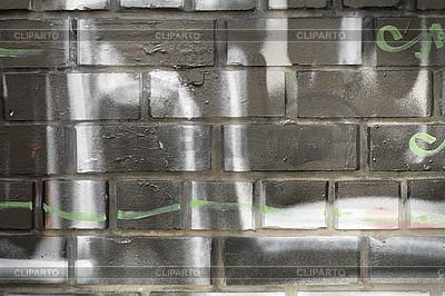 Mauer mit Graffiti | Foto mit hoher Auflösung |ID 3171931