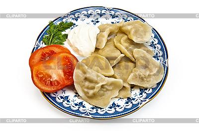 Dumplings on plate | High resolution stock photo |ID 3193469