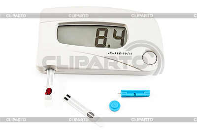Glucometer | Stock Photos and Vektor EPS Clipart | CLIPARTO