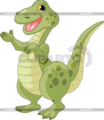 귀여운 공룡 | 벡터 클립 아트 |ID 3185742