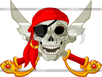 Pirate Skull | Stock Vector Graphics |ID 3187357