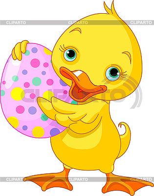 Easter duckling | Stock Vector Graphics |ID 3192278