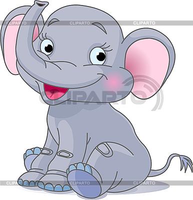Baby elephant | Stock Vector Graphics |ID 3197028