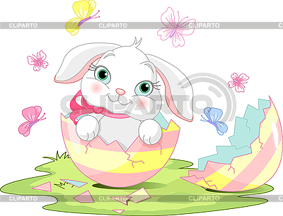 Easter bunny surprise | Stock Vector Graphics |ID 3199654