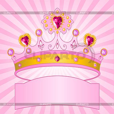 Krone von Prinzessin | Stock Vektorgrafik |ID 3203277
