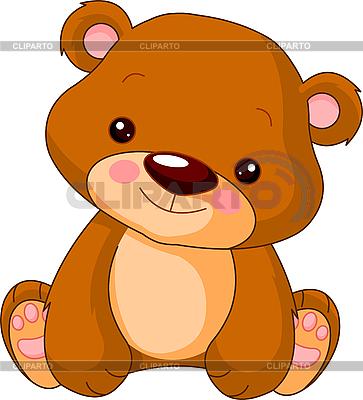 Funny Niedźwiedź | Klipart wektorowy |ID 3204915