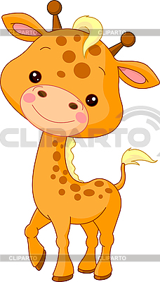 Funny Giraffe | Stock Vector Graphics |ID 3204923