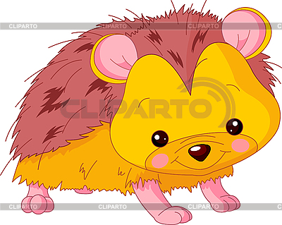 Funny Hedgehog | Stock Vector Graphics |ID 3205179