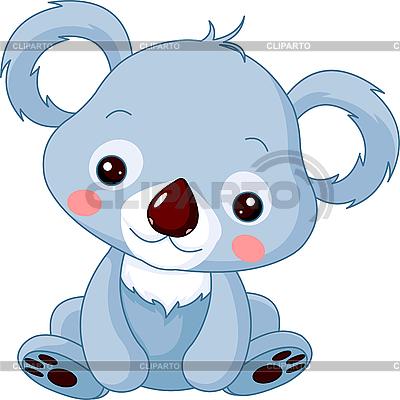 Funny Koala | Stock Vector Graphics |ID 3205185