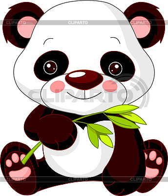 Funny Panda | Stock Vector Graphics |ID 3205195
