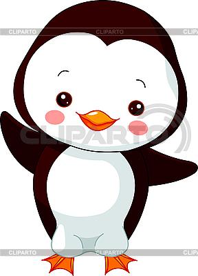 Funny Penguin | Stock Vector Graphics |ID 3205197
