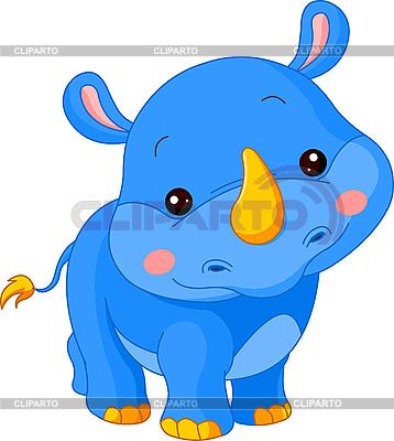 Funny Rhino | Stock Vector Graphics |ID 3205199