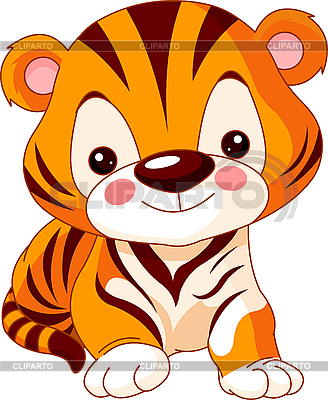 Comic-Tiger | Stock Vektorgrafik |ID 3205203