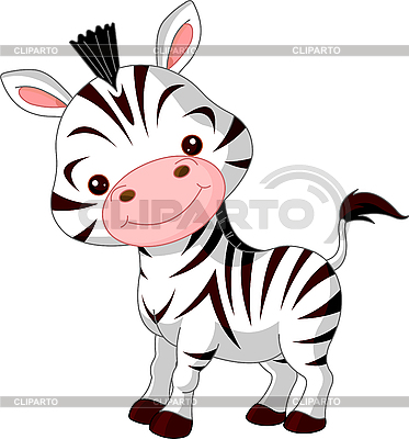 Funny Zebra | Stock Vector Graphics |ID 3205205