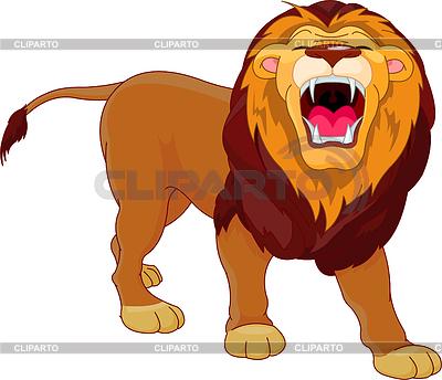 Lew ryczący | Klipart wektorowy |ID 3227614