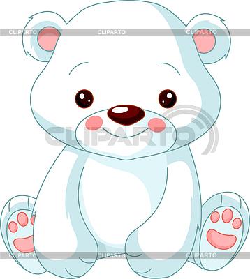 Funny Polar Bear | Stock Vector Graphics |ID 3229511