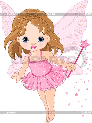 Cute little baby fairy | Stock Vector Graphics |ID 3253108