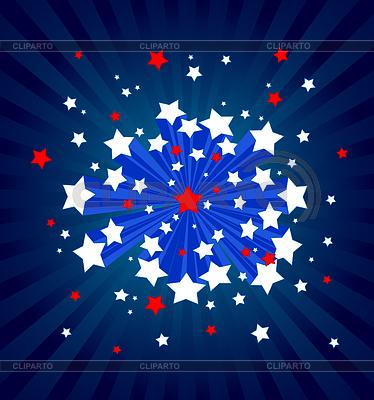 American starburst background | Stock Vector Graphics |ID 3253224