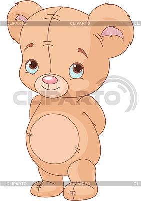 Netter Teddybär | Stock Vektorgrafik |ID 3337956