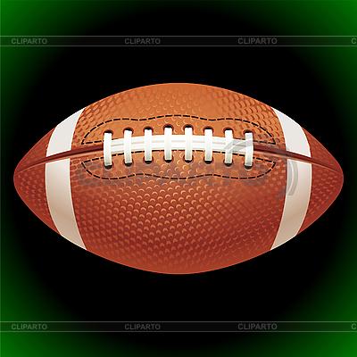 American football ball | Stock Vector Graphics |ID 3198521