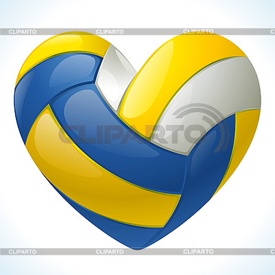 I love volleyball | Stock Vector Graphics |ID 3200668