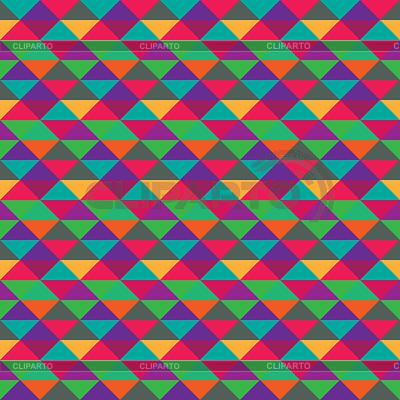 Seamless triangle geometric multicolored pattern   Stock Vector Graphics  ID 3276945