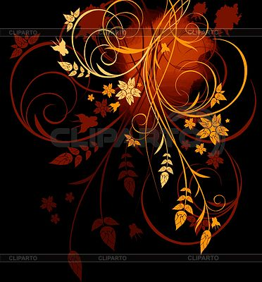 Kwiatów w tle | Stockowa ilustracja wysokiej rozdzielczości |ID 3230425