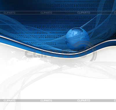 Abstract background with globe   High resolution stock illustration  ID 3234168