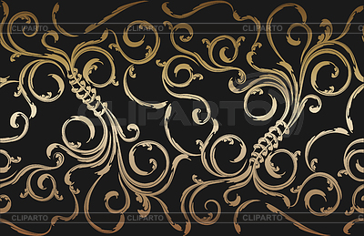 Seamless floral ornament | Stock Vector Graphics |ID 3270557