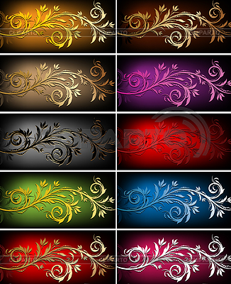 Floral backgrounds | Stock Vector Graphics |ID 3272857